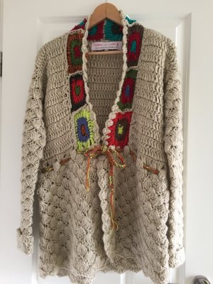 Strickjacke Hippie 70'er