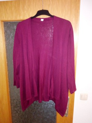 Strickjacke in Bordeaux