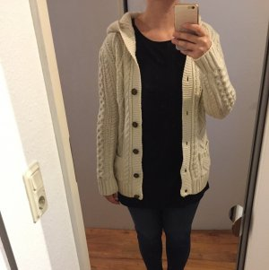 Strickjacke in Creme Gr. M