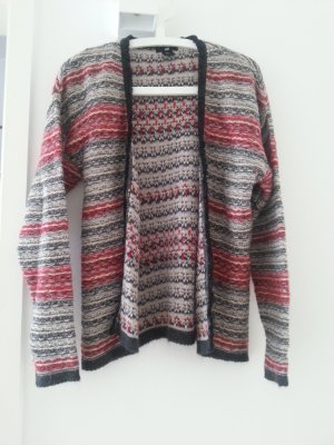 Strickjacke in Linksstrick // Isabel-Marant-Style // mit Mohair & Wolle