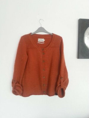 Strickjacke in M, Tom Tailor in rostrot