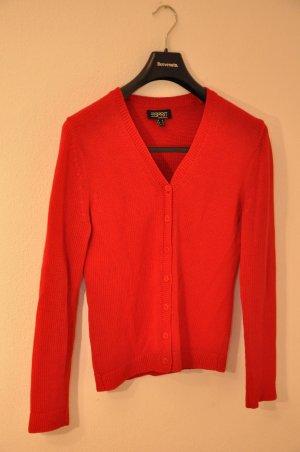 Strickjacke in Rot von Esprit