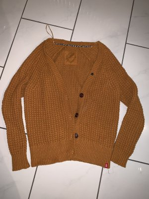 Strickjacke in senfgelb von EDC