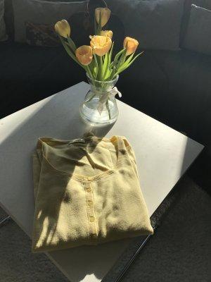 Strickjacke in Sonnengelb von Repeat zu verkaufen
