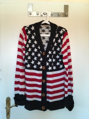 Strickjacke in USA Muster  in XL