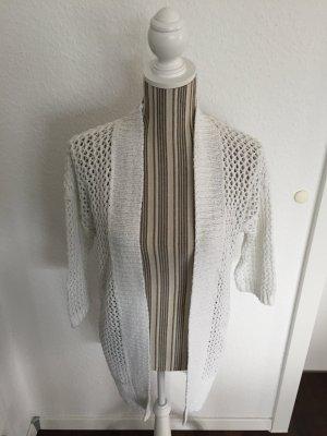 Esprit Cardigan a maniche corte bianco