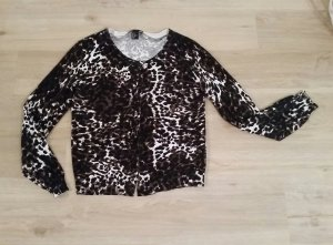 Strickjacke leopard H&M