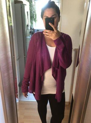 Strickjacke, lila / violett, Gr. L / XL / 42 / 44, Promod