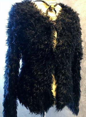 Strickjacke Luxus pur schwarz