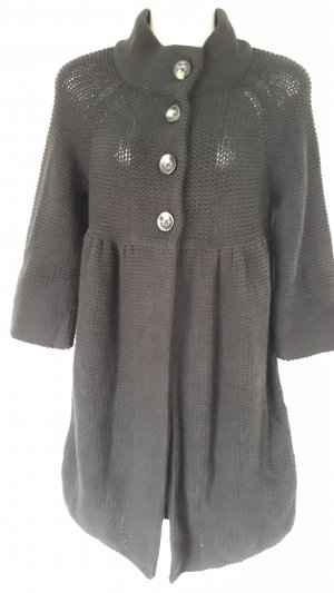 Oui Knitted Coat black