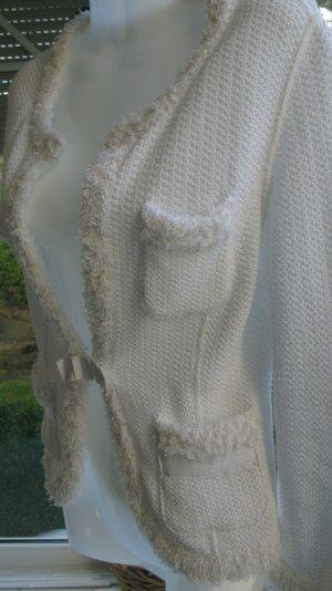 Strickjacke MARC CAIN Größe 34 weiß