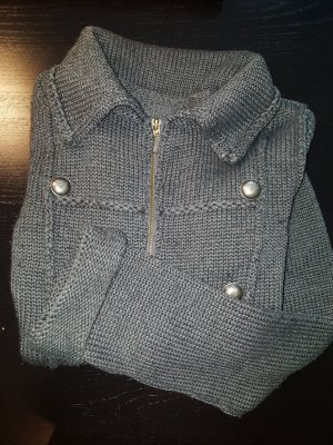 Strickjacke Military Kurz