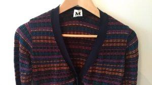 Missoni Veste en tricot bleu foncé