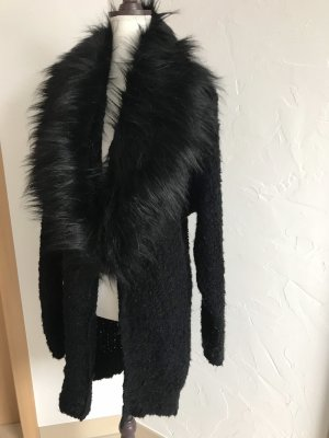 Aniston Knitted Coat black