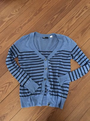 BDG Veste en tricot bleu foncé-bleuet