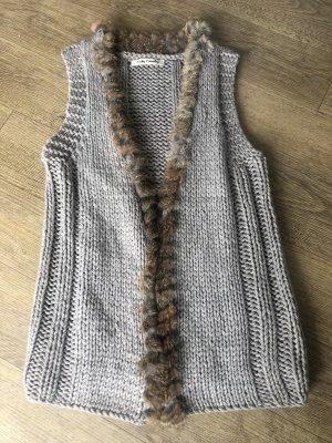Betty Barclay Chaqueta de lana marrón grisáceo-gris