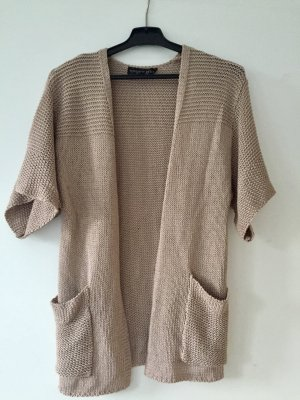 Topshop Petite Knitted Cardigan rose-gold-coloured