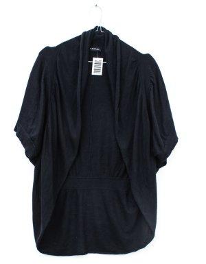 Taifun Short Sleeve Knitted Jacket black silk