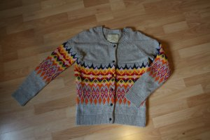 Strickjacke mit Norweger-Muster