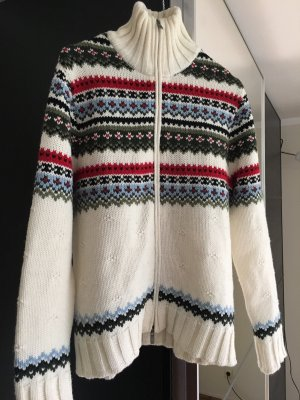 Strickjacke mit Norwegermuster