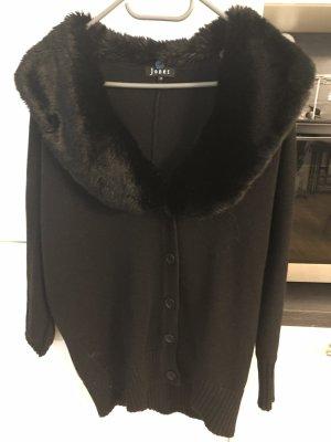 Jones Veste longue noir-gris anthracite coton