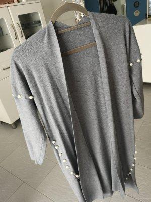 Giacca in maglia grigio