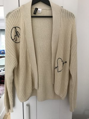 Strickjacke mit Prints