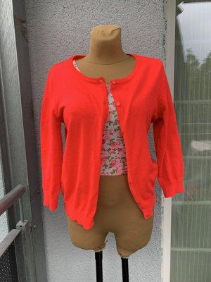 H&M Gilet tricoté rose fluo