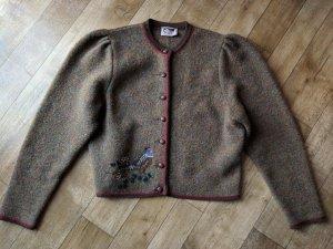 Veste bavaroise multicolore laine mérinos