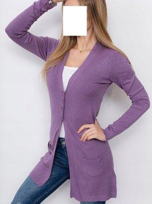 Pull en cashemire violet-mauve cachemire