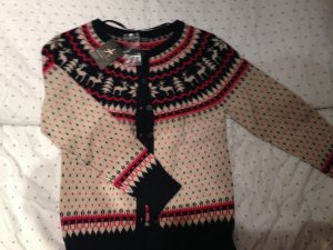 Strickjacke Norweger Muster