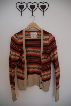 Strickjacke Norwegermuster