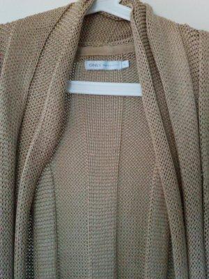 Strickjacke ohne Ärmel von ONLY in beige Größe M/38