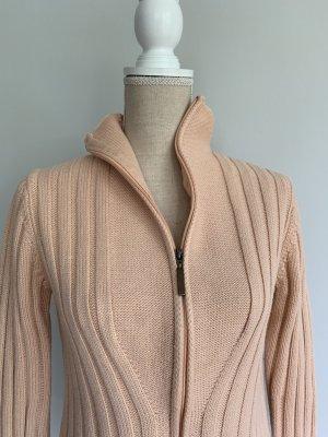 Olsen Giacca di lana albicocca Tessuto misto
