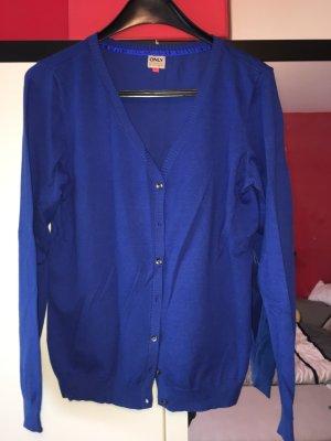 Strickjacke Only blau in Größe XL