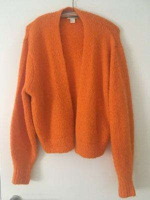 Strickjacke Orange Gr. XS