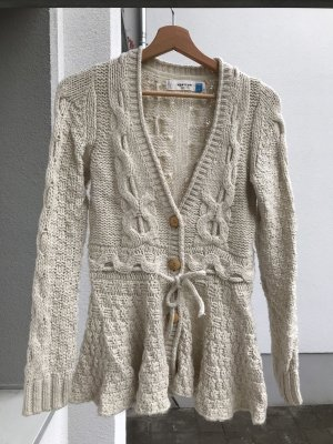 Anthropologie Cardigan natural white
