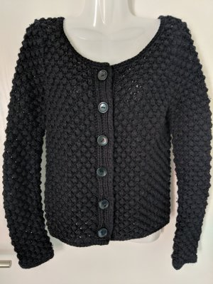 Promod Coarse Knitted Jacket black