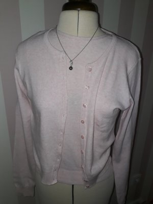 Strickjacke rosa,  Twin-Set rosa,  T-Shirt rosa,  Sisley