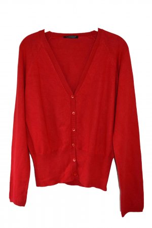 Strenesse Cardigan red mixture fibre