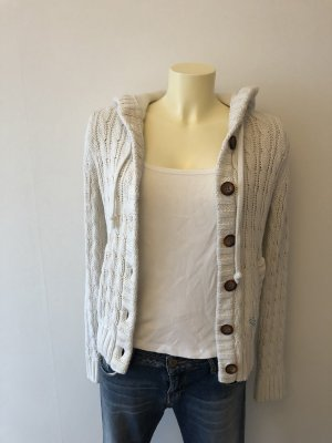 Roxy Coarse Knitted Jacket natural white