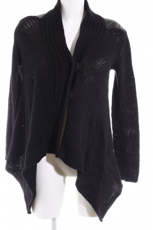 Strickjacke schwarz Casual-Look