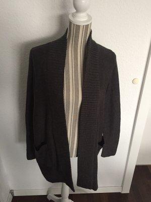 Strickjacke schwarz / grau von H&M