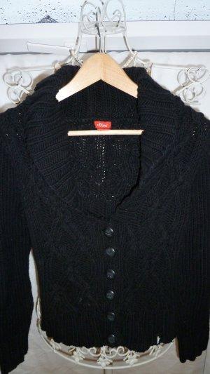 Strickjacke schwarz von s.Oliver