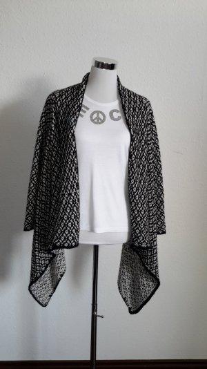 Strickjacke schwarz-weiss marke Zara