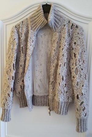 Sem per lei Chaqueta de lana marrón grisáceo