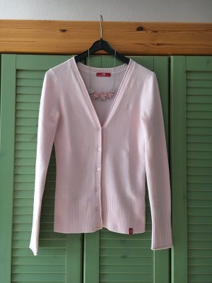 Strickjacke / Strickcardigan rosa der Marke edc in Größe 36