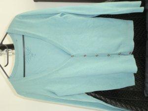 edc by Esprit Giacca in maglia turchese Cotone