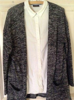 C&A Twin set in maglia nero-bianco Cotone