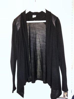 Strickjacke Vero Moda mit Lederdetails